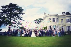 Liberty Pearl Devon wedding photographer Deer Park hotel creative colourful fun 16