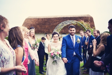 Liberty Pearl Devon wedding photographer The Oak Barn quirky vintage 19
