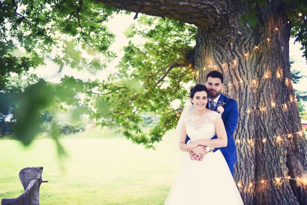 Liberty Pearl Devon wedding photographer The Oak Barn quirky vintage 25