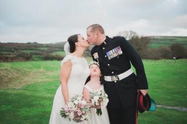 Liberty Pearl Natural Cornwall wedding photographer trevenna barns 5