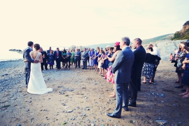Liberty Pearl natural wedding photographer Cornwall Polhawn Fort beach 15