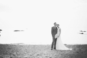 Liberty Pearl natural wedding photographer Cornwall Polhawn Fort beach 19