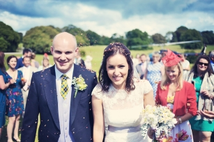 natural wedding photographer Cornwall Menheniot Church Boconnoc