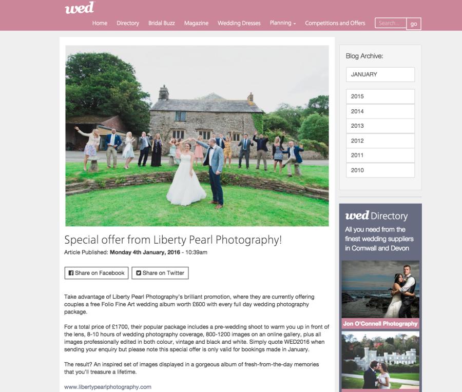 wed magazine liberty pearl photography january wedding