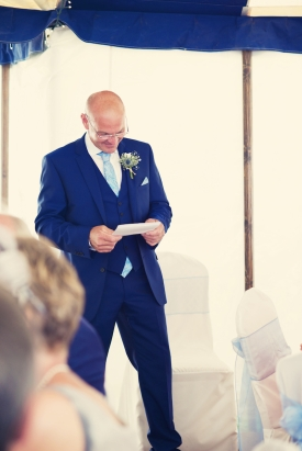 Cornish beach wedding at Polhawn Fort and Rame Church Cornwall 1