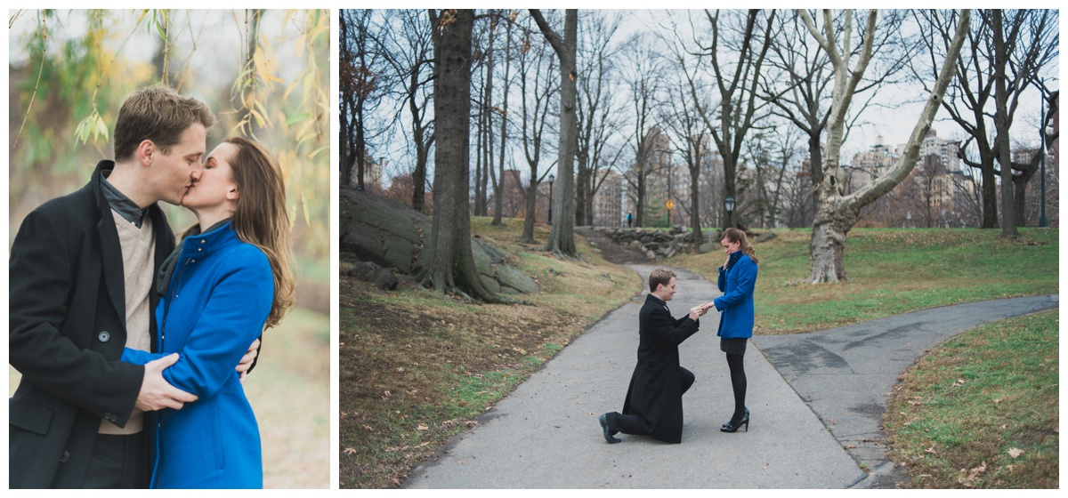 Engagement photo shoot New York Central park
