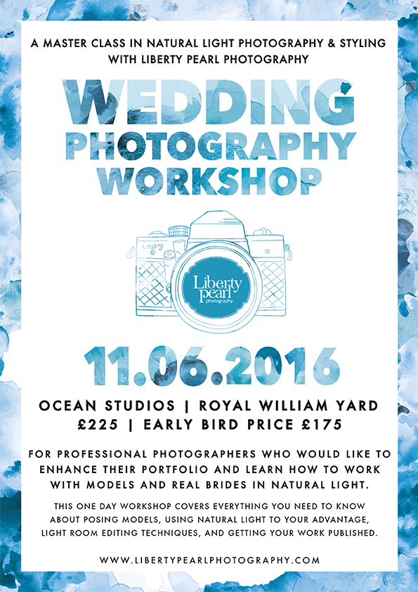 Liberty Pearl photography wedding workshop 2 Ocean Studios Plymouth