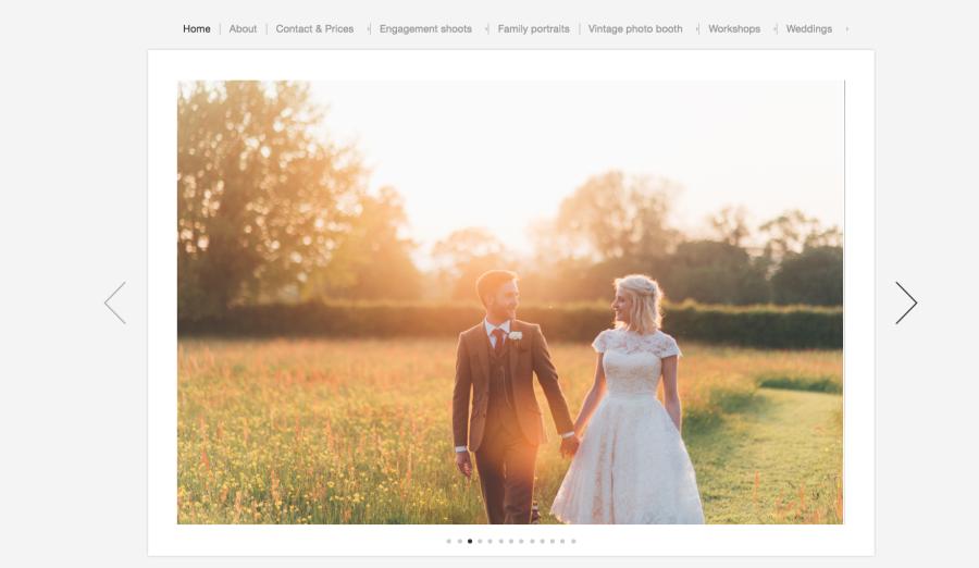 Bristol wedding photographer new website