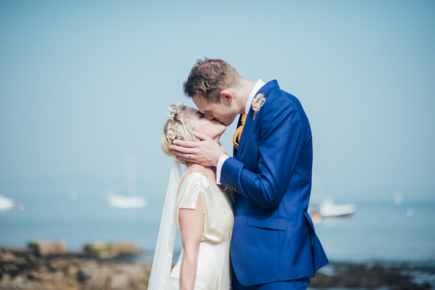 liberty-pearl-photography-village-hall-beach-wedding-Cornwall