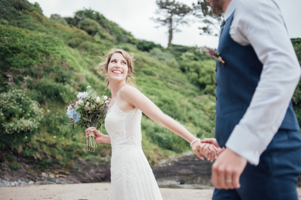 Polhawn Fort wedding photographer Liberty Pearl Photography