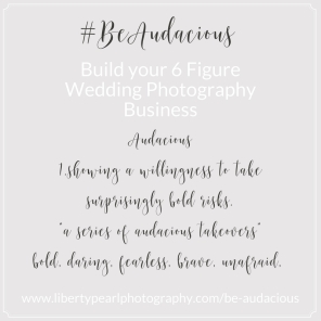 Build your 6 Figure Wedding PhotographyBusiness New York