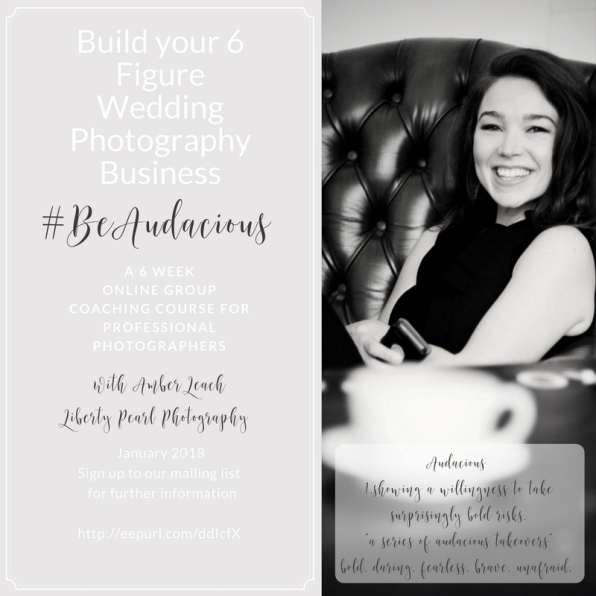 Build your 6 Figure Wedding PhotographyBusiness